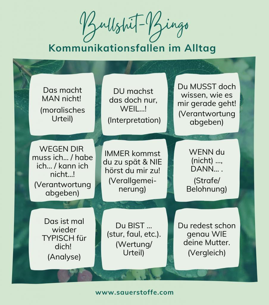 Bullshit-Bingo: Kommunikationsfallen im Alltag